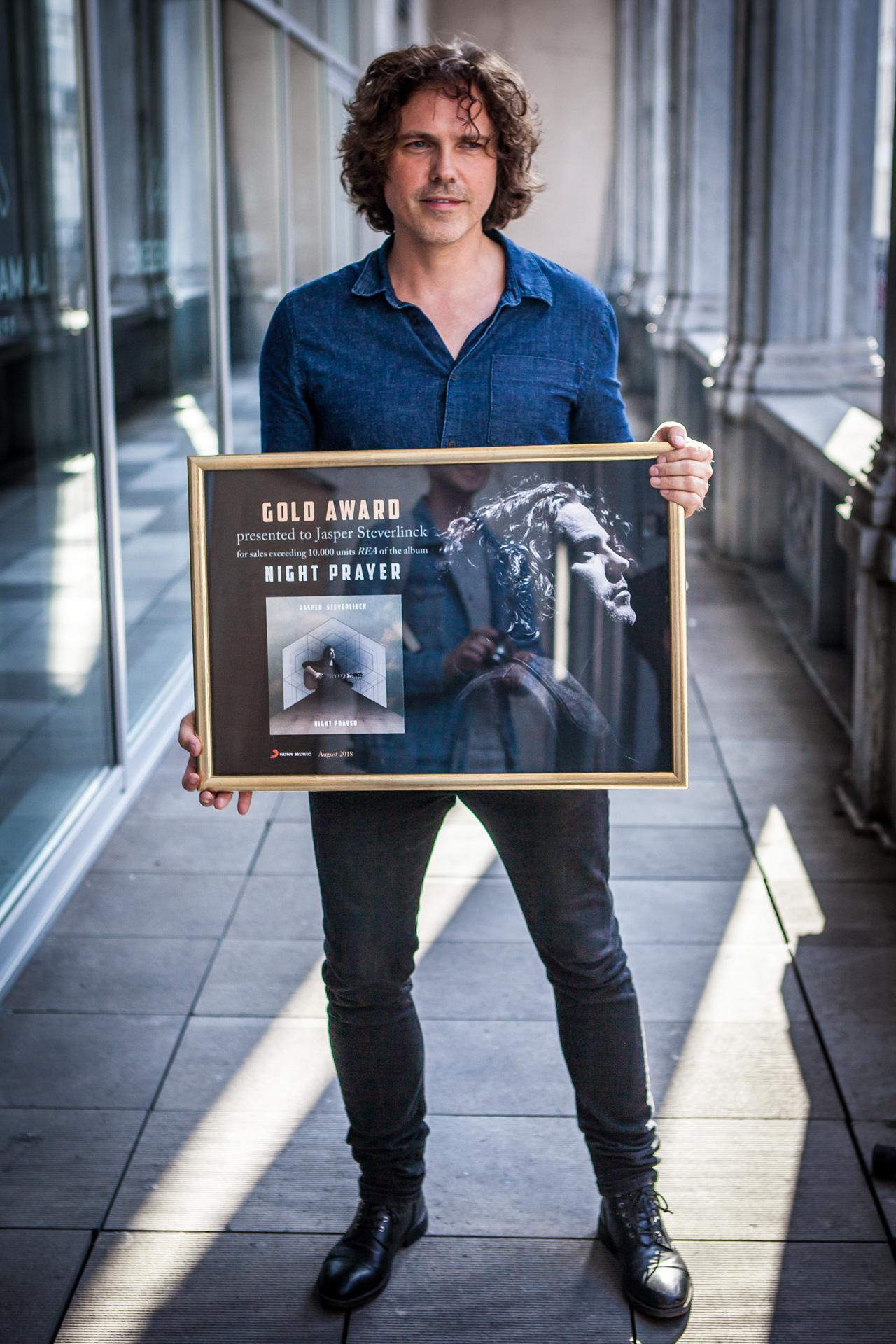 Golden record for Jasper Steverlinck!
